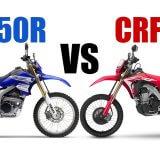 【どちらが強い?】CRF450LとWR250Rを徹底的に比較してみた