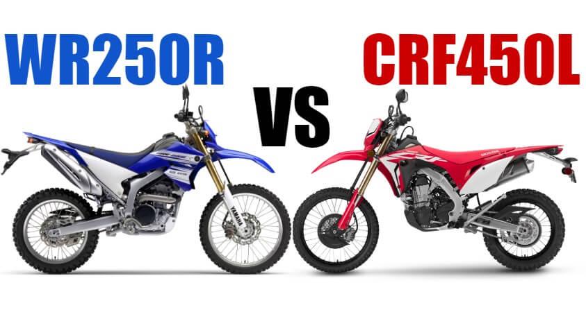 CRF450LvsWR250R