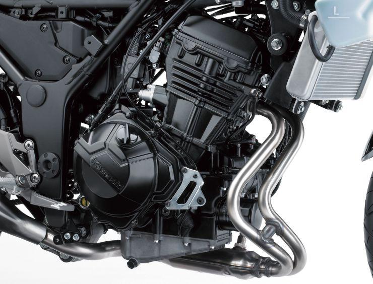 ninja250のエンジン