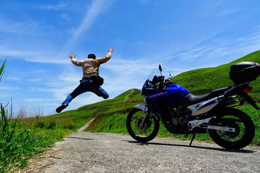 がんちゃんさん。得意技はジャンプ!