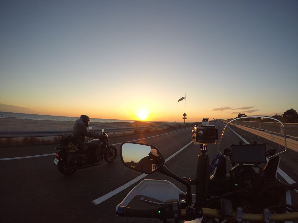 アゴマウントで撮ったGoProの映像22日