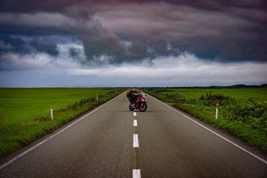 バイク乗りの名所エヌサカ線