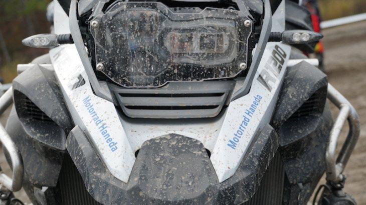 R1200GS ADVのヘッドライトカバー