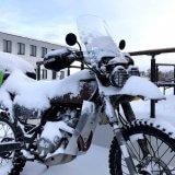 【真冬の北海道】宗谷岬 年越しツーリングのために事前にやっておいたバイクのカスタムやオススメのカスタム!