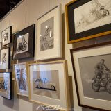 【バイク×アート】世田谷区 UNITED cafeで開催中の個展がすごかった