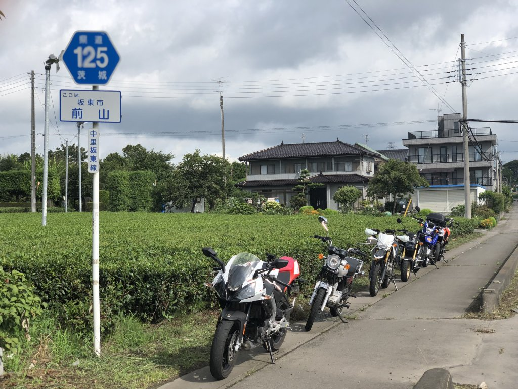 125ccバイクで125号線