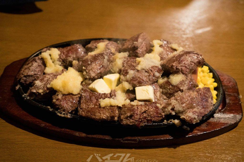 これが1kgステーキだ!