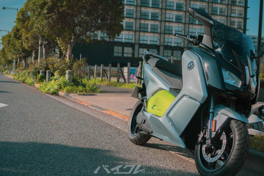 BMWの電動バイク