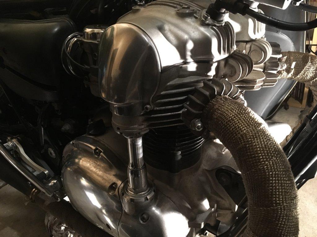 エンジン部分