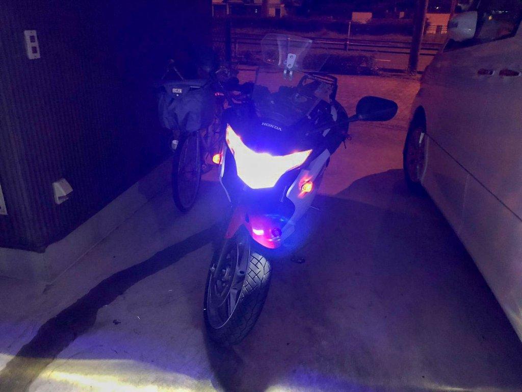 LED化したCBR250R