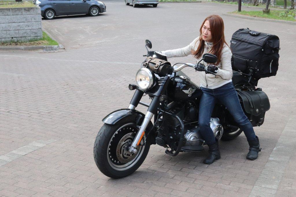 バイクが大きい・・・
