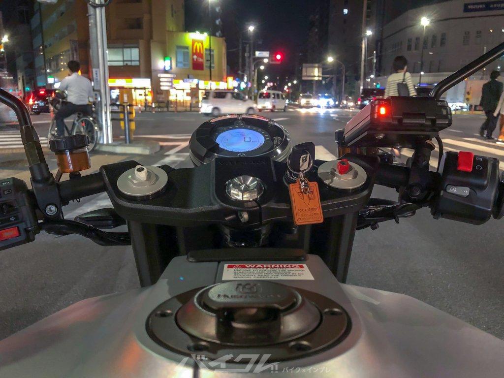初めてのセパレートハンドルでどうやって乗っていいの・・・!?